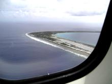 タヒチ伝道のブログ-Tureia上空